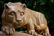 Pennsylvania State University Prints - Lions Shrine Print by Gallery Three