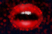 Lips Art - Lips Bokeh by NicoWriter