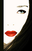 Lips Print by Bruce Iorio