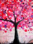 Wendy Smith - Lipstick pink bubble tree