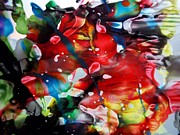 Art Decor Tapestries - Textiles Posters - Liquid Prism Poster by David Rogers