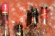 Bar Photo Originals - Liquor bottles by Tommy Hammarsten