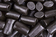 Pieces Metal Prints - Liquorice background Metal Print by Jane Rix