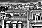 Rooftop Photos - Lisbon Rooftops II by Marco Oliveira