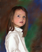 Portraitist Prints - Lisel Print by David Gage