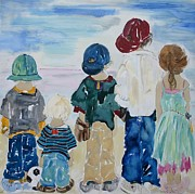 Discrimination Mixed Media Metal Prints - Listen To The Day Metal Print by Vicki Aisner Porter