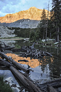Sangre De Cristo Prints - Little Bear Peak Reflection Print by Aaron Spong
