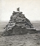 Little Bighorn Monument Print by Granger