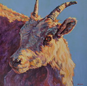 Contemporary Native Art Paintings - Little Bighorn by Patricia A Griffin