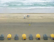 Tilt Shift Prints - Little Cabanas Print by Colleen Kammerer