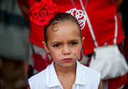 Jenny Rainbow - Little Carmen. Romeria Celebration in Torremolinos. Spain