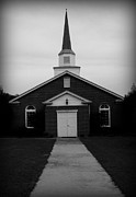 Kelly Hazel Acrylic Prints - Little Church Acrylic Print by Kelly Hazel