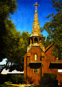 Las Vegas Art Posters - Little Church of the West Poster by Julie Palencia