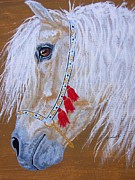 Equine Drawings - Little fella pony by Lucka SR
