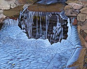 Michelle Moroz-Chymy - Little Frozen Waterfall