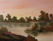 Cynthia Adams - Little Haven at Sunset