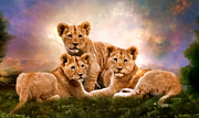 Angelgold Art - Little Lions