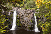 Pattison Framed Prints - Little Manitou Falls Autumn 2 Framed Print by John Brueske