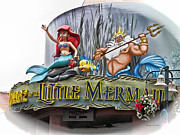 Prince Charming Photographs Framed Prints - Little Mermaid Signage Framed Print by Thomas Woolworth