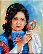 Ilona Tigges - Goetze - Little Navajo Girl