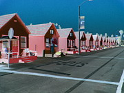 Clemente Prints - Little Pink Houses Print by Kevin Moore