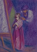 Medieval Pastels - Little Princess by Marie Marfia