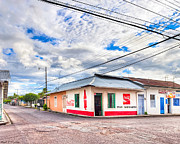 Businesses Prints - Little Pulperia On The Corner - Costa Rica Print by Mark E Tisdale