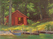 Marianne  Kuhn - Little Red Boat Shed