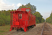 HH Photography - Little Red Caboose 2