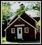 Brick Schools Photos - Little Red Schoolhouse by Gail Matthews