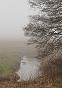 Painterly Photography Posters - Little River Poster by Odd Jeppesen