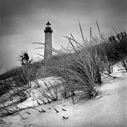 Burton Framed Prints - Little Sable Point Lighthouse II Framed Print by Jeff Burton