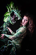Body Paint Prints - Little Shop of Horrors Print by David April
