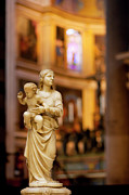 Child Jesus Photos - Little Statue by Brian Jannsen