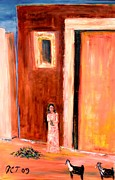 Patricia Taylor - Little Village Girl in Wadi Hanifa