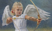 Archery Art - Little Warrior by Anna Bain