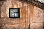 Teruel Prints - Little window with net curtain on an old house Print by RicardMN Photography