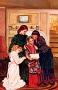 Louisa May Alcott Painting Prints - Little Women Print by Patrick Whelan