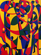Lively Prints - Live Adventurously Print by Ron Waddams