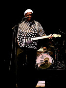Photographs Originals - Live and Loud Buddy Guy  by Iconic Images Art Gallery David Pucciarelli