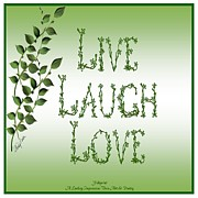 Shirley Fisher - Live Laugh Love