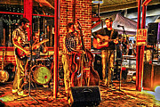 First Friday Prints - Live Music Print by Frank Savarese