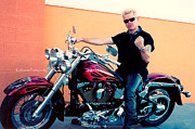 Billy Idol Art - Live Strong Live Free by Kip Krause