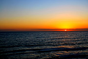 Panama City Beach Posters - Lively Sunset Poster by May Photography