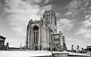 Anglican Prints - Liverpool Anglican Cathedral Print by David French