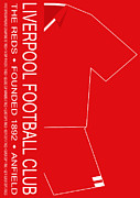 Home Football Game Prints - Liverpool Premier League Football Club Print by Neil Finnemore