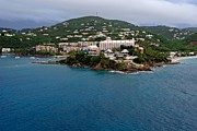 Saint Christopher Photos - Living High In Saint Thomas by Willie Harper