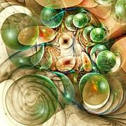Living Organisms Print by Anastasiya Malakhova