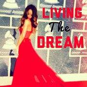 Rihanna Art - Living The Dream by Zandi Du Preez