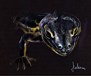 Lizard Print by Daliana Pacuraru